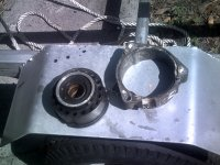 Lubing the jet pump bearing | Jet Boaters Community Forum
