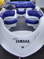 Sold 1999 yamaha exciter 270 blue illinois jet for Yamaha jet boat forum