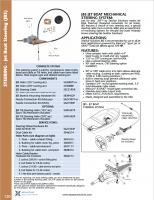 SeaStar SSC21915 15 ft Jet Boat Steering Cable Teleflex JBS