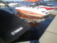 Mooring cover while boat is in water? | Jet Boaters