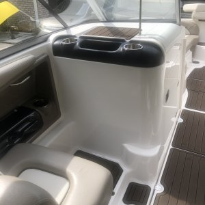 2010 Yamaha 242 Limited S   Passenger's view